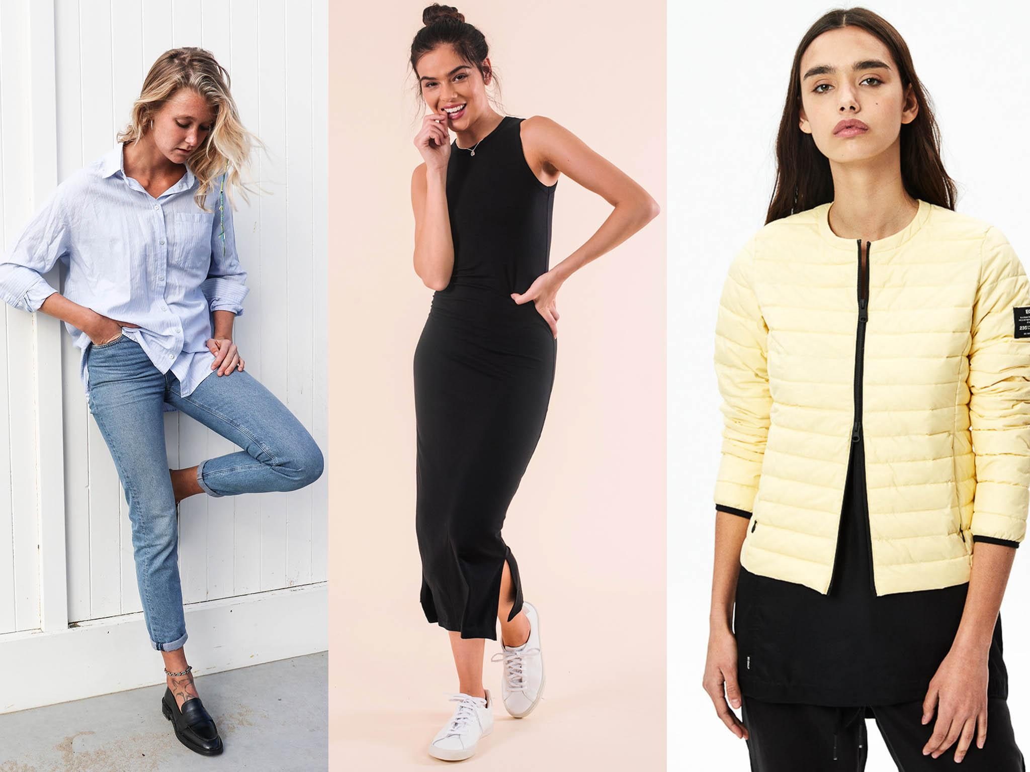 Lavorare intorno alle donne vestiti di moda